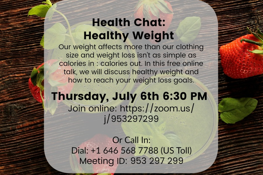 Healthy Weight Health Chat