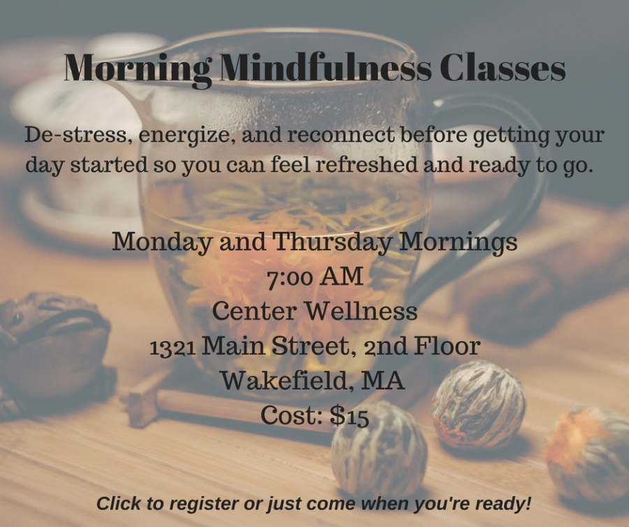 Morning Mindfulness Classes