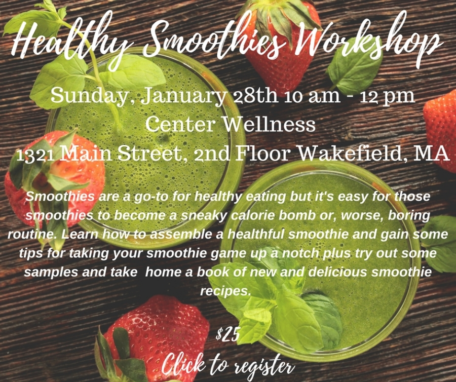 Healthy Smoothies Workshop
